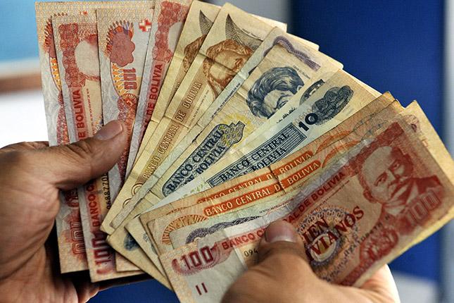 El Banco Central de Bolivia aumenta el dinero en circulación