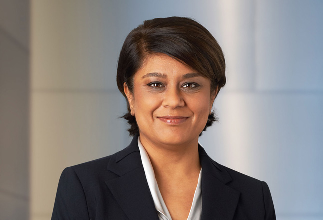 Shriti Vadera, presidenta de Santander UK