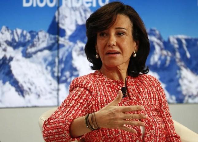 """Ana Botín: """"Las perspectivas económicas de España están mejorando"""""""
