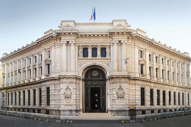 Banco Central de Italia rebaja previsión de crecimiento