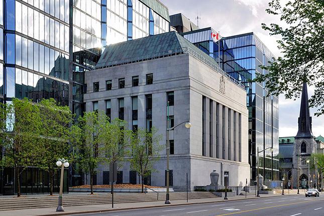 El Banco de Canadá sube los tipos de interés hasta el 1%
