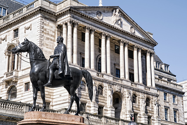 El Banco de Inglaterra tiene un 32% de mujeres en cargos directivos