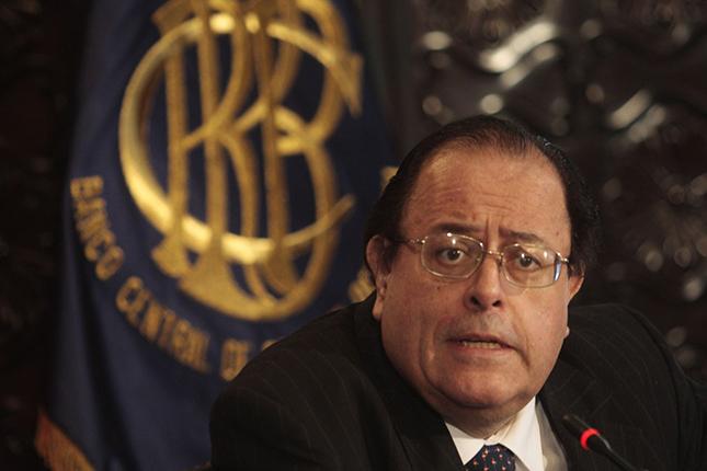 El presidente del Banco Central de Perú, Banquero Central 2015.