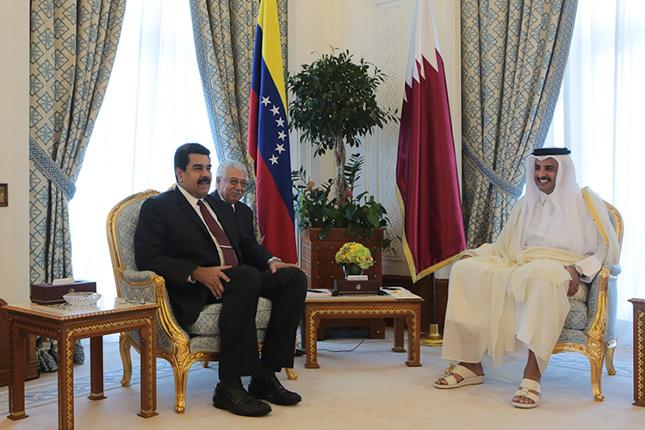 Venezuela busca financiamiento de bancos en Qatar