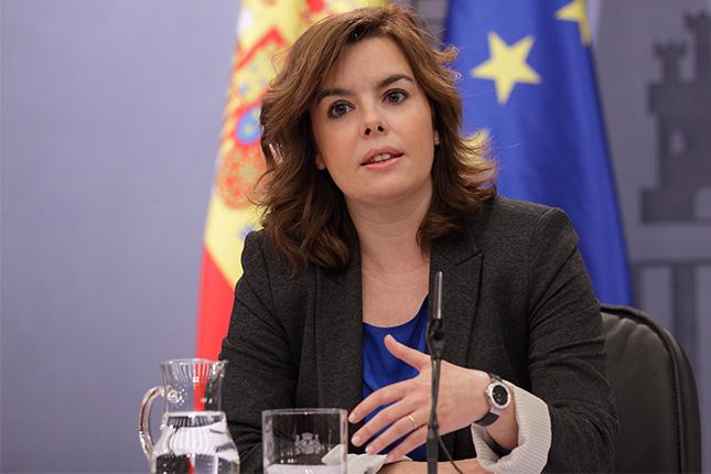 Sáenz de Santamaría: el crecimiento de España no es un espejismo