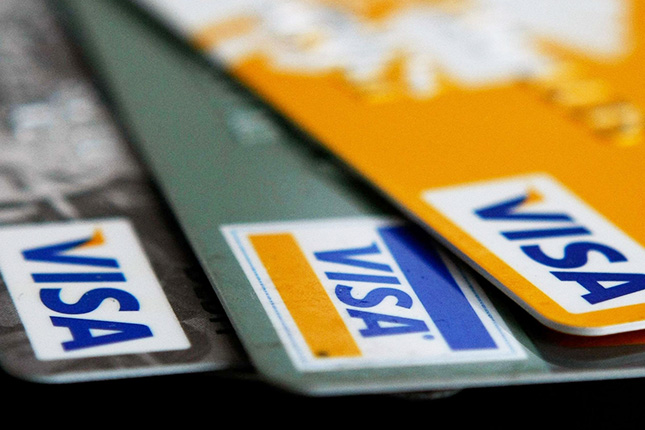 Los beneficios de Visa se incrementan un 28%