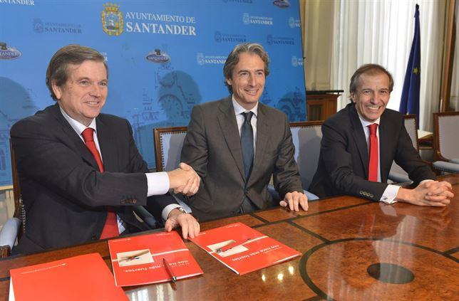 Banco Santander acuerda impulsar la digitalización comercios minoristas en Santander