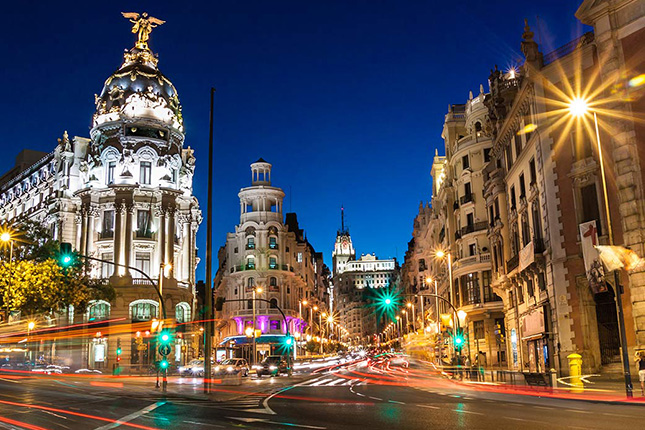 Reunión internacional de inversores en Madrid