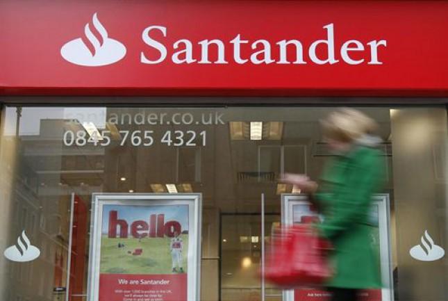 Santander UK gana un 14% más en el primer trimeste