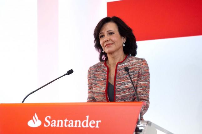 """Ana Botín: """"Portugal es un mercado estratégico para Banco Santander"""""""