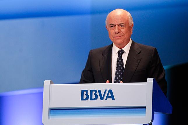 Francisco González busca convertir BBVA en una empresa de servicios digitales