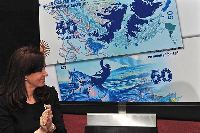 Argentina: nuevo billete de las Islas Malvinas