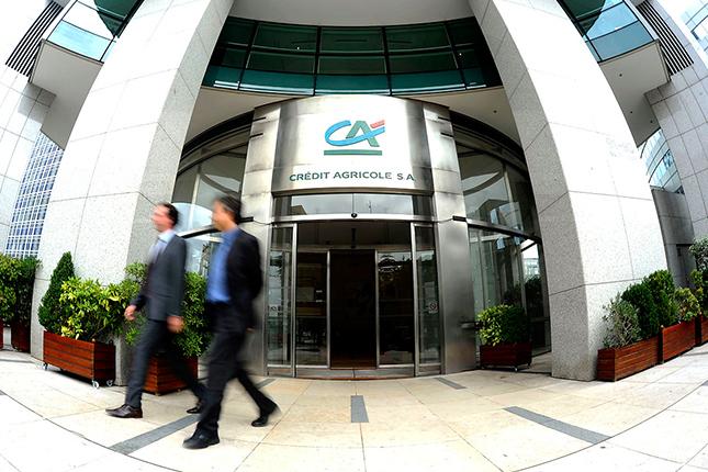 Crédit Agricole eleva un 10% su beneficio