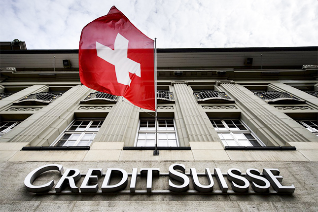 Credit Suisse pierde 273 millones hasta marzo