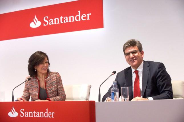 Banco Santander, líder del sector bancario por ganancias