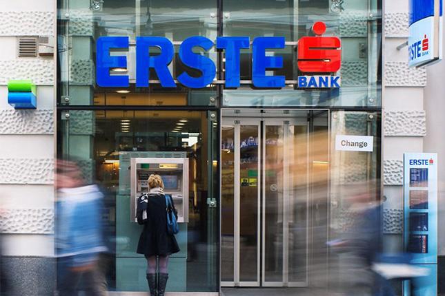 Erste Group Bank pierde 1.442 millones en 2014