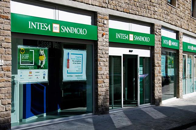 Intesa Sanpaolo gana 1.064 millones hasta marzo
