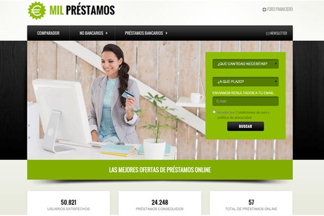 Mil préstamos, el portal financiero líder en España