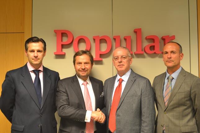 Banco Popular y FENADISMER firman convenio de colaboración