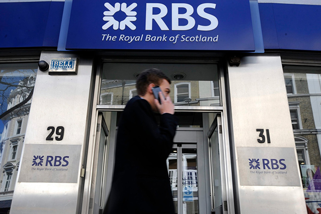 Royal Bank of Scotland duplica sus pérdidas en el primer trimestre