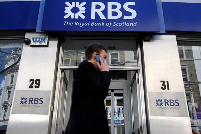 RBS pierde más de 2.500 millones en 2015