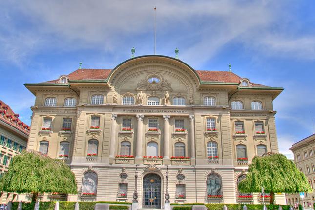 El Banco Nacional Suizo busca un tipo de cambio de 1,05-1,10 francos por euro