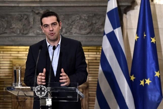 Tsipras es optimista ante la reunión del Eurogrupo