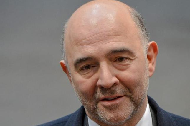 Moscovici pide para la eurozona una política fiscal común
