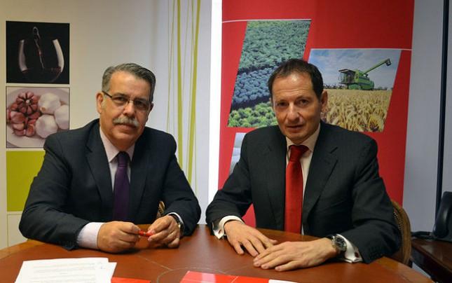 Banco Santander renueva su colaboración con Cooperativas Agroalimentarias Castilla-La Mancha