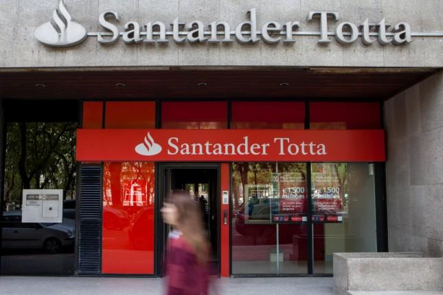 Santander Totta gana 193 millones en 2014, un 90% más