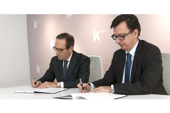 BEI y Kutxabank firman acuerdo para financiación de pymes