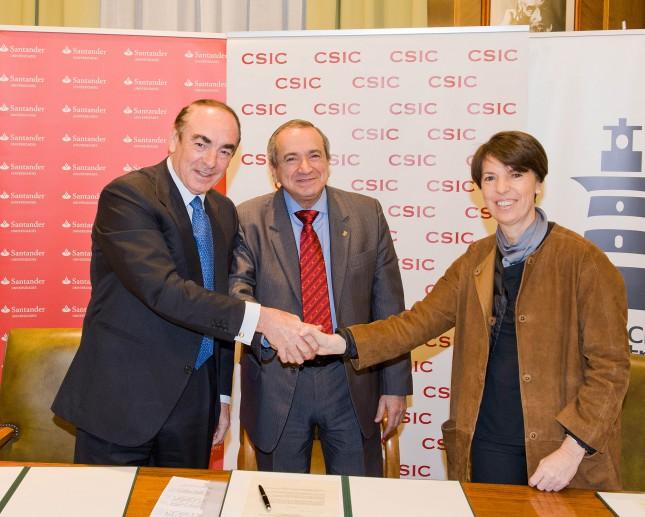 Banco Santander, CSIC y Fundación San Patricio promueven el congreso Investiga I+D+i