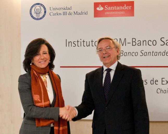 Banco Santander y UC3M crean un Instituto de Investigación en Big Data Financiero
