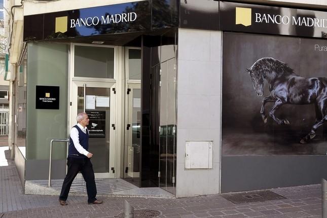 La CNMV inicia la suspensión de Banco Madrid