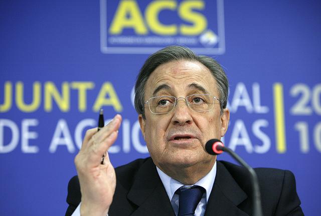 Florentino Pérez presidirá ACS cuatro años más