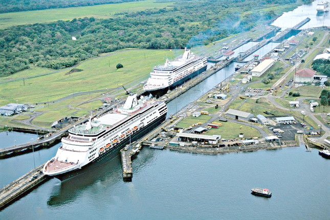 El Canal de Panamá registra un 8% más de ingresos