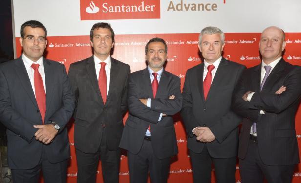 Banco Santander presenta el programa Santander Advance en Uruguay
