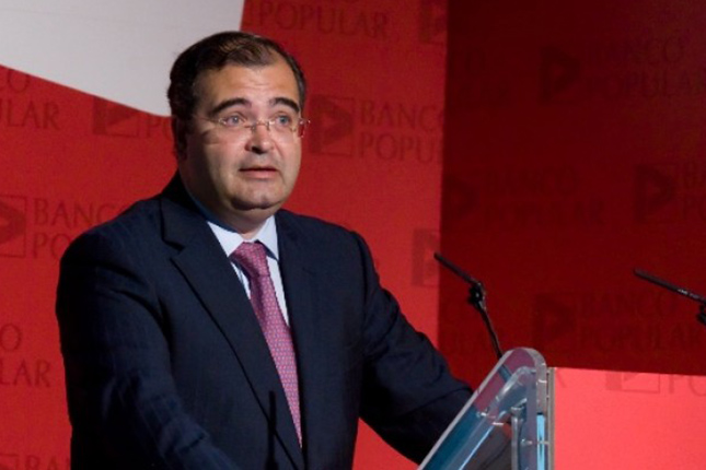 Ángel Ron, elegido Financiero del Año 2015 por Ecofin