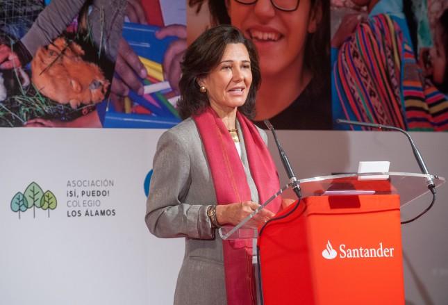 Ana Botín presidirá la XV Junta General de Accionistas de Universia en la UEx