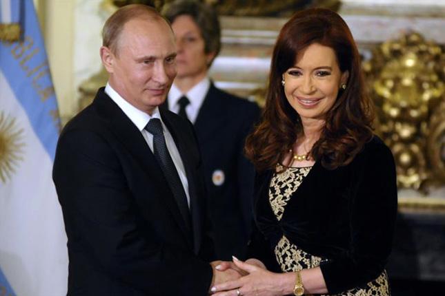 Argentina busca alianza con Rusia