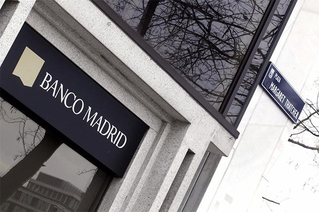 Banco Madrid obtiene 11,9 millones en el primer trimestre