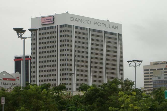 Banco Popular de Puerto Rico gana un 13,5 % menos en el primer trimestre