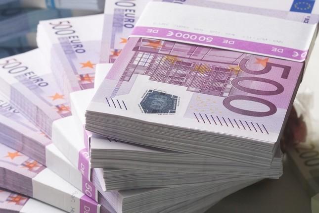 Los billetes de 500 euros, en mínimos desde 2002