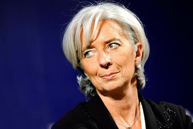 Lagarde pide coordinar un plan de estímulos fiscales