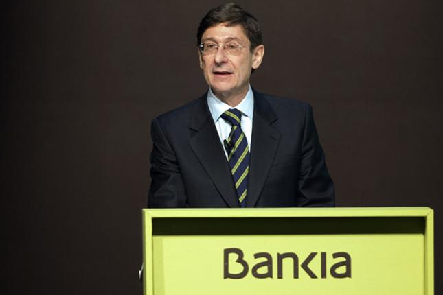 Goirigolzarri (Bankia) pide seguridad jurídica para el sector