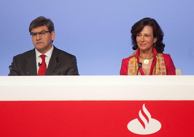 Banco Santander gana 5.966 millones al cierre de 2015