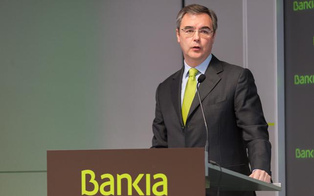 Bankia confía en que la privatización sea antes de fin de año