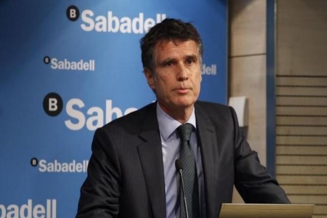Guardiola (Sabadell) prevé tipos de interés negativos en 2016 y 2017