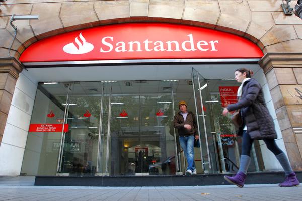 Santander UK aprueba los test de estrés del Banco de Inglaterra