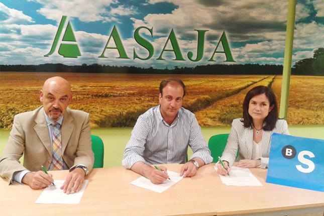 Banco Sabadell firma acuerdo con ASAJA de Ávila